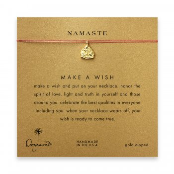 namaste+buddha+necklace+on+orange%2C+gold+dipped