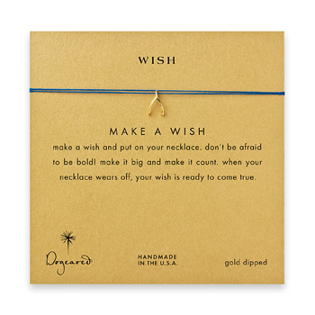 wish+wishbone+necklace+on+royal%2C+gold+dipped
