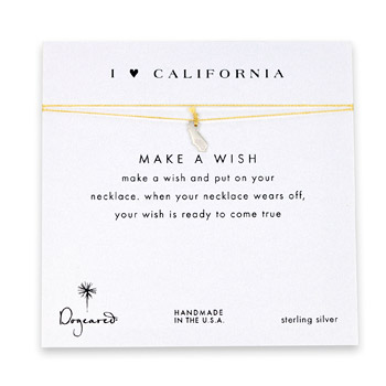 I+love+california%2C+california+necklace+on+gold%2C+sterling+silver