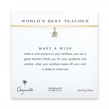 world%27s+best+teacher+star+necklace+on+gold%2C+sterling+silver
