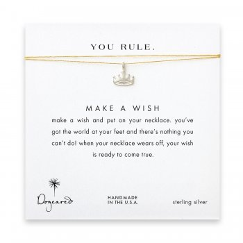 you+rule+crown+necklace+on+gold%2C+sterling+silver