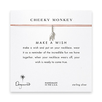 cheeky+monkey%2C+monkey+necklace+on+orange%2C+sterling+silver