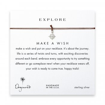 explore+compass+necklace+on+tobacco%2C+sterling+silver