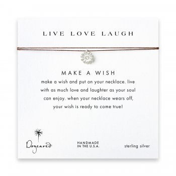 live+love+laugh+daisy+necklace+on+tobacco%2C+sterling+silver