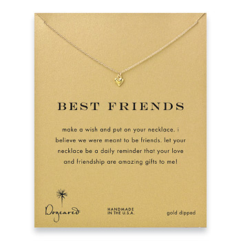best+friends+cupid+heart+necklace%2C+gold+dipped