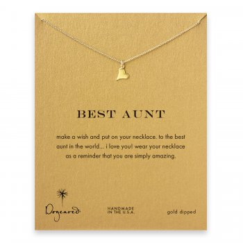 best+aunt+happy+heart+necklace%2C+gold+dipped