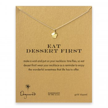eat+dessert+first+cupcake+necklace%2C+gold+dipped