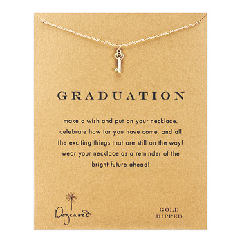 graduation+heart+key+necklace%2C+gold+dipped