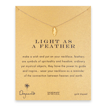 light+as+a+feather%2C+feather+necklace%2C+gold+dipped