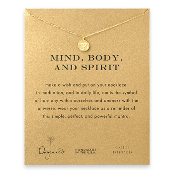 mind+body+and+spirit+om+symbol+necklace%2C+gold+dipped
