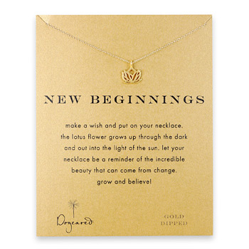 new+beginnings+lotus+necklace%2C+gold+dipped