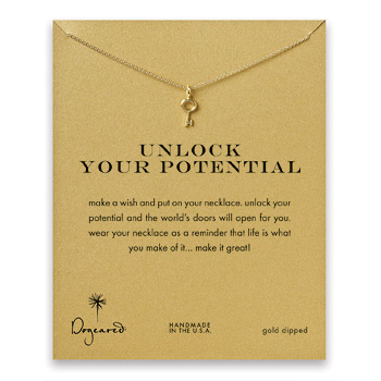 unlock+your+potential+key+necklace%2C+gold+dipped