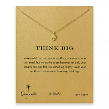 think+big+little+acorn+necklace%2C+gold+dipped