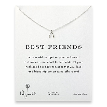 best+friends+wishbone+necklace%2C+sterling+silver