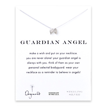 guardian+angel%2C+angel+wings+necklace%2C++sterling+silver