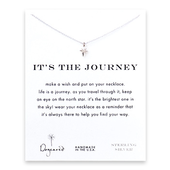 it%27s+the+journey+north+star+necklace%2C+sterling+silver