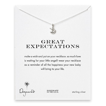 great expectations ducky necklace, sterling silver