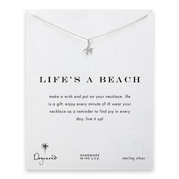 life%27s+a+beach+starfish+necklace%2C+sterling+silver