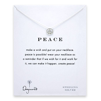 peace+sign+necklace%2C+sterling+silver