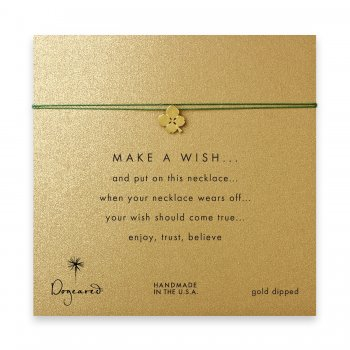 make+a+wish+four+leaf+clover+necklace+on+emerald%2C+gold+dipped