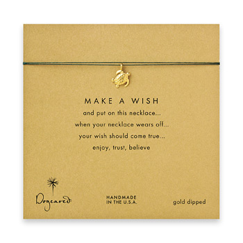 make+a+wish+sea+turtle+necklace+on+evergreen%2C+gold+dipped