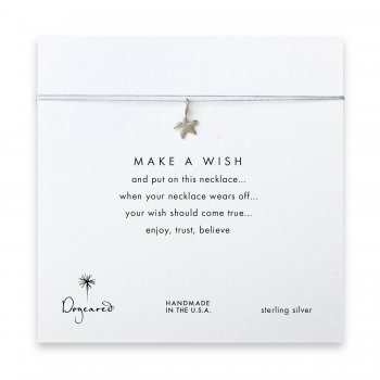 make+a+wish+starfish+necklace+on+silver%2C+sterling+silver