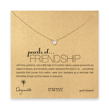 pearls+of+friendship+white+pearl+necklace%2C+gold+dipped