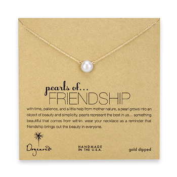 large+pearls+of+friendship+white+pearl+necklace%2C+gold+dipped+-+18+inch