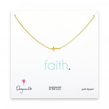 small+sideways+cross+necklace%2C+gold+dipped
