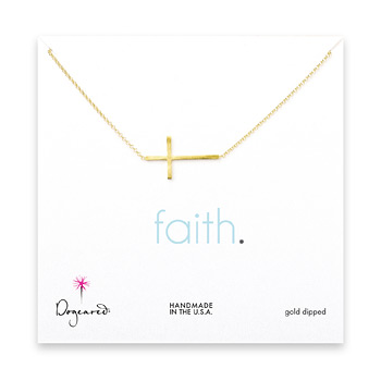 large+sideways+cross+necklace%2C+gold+dipped