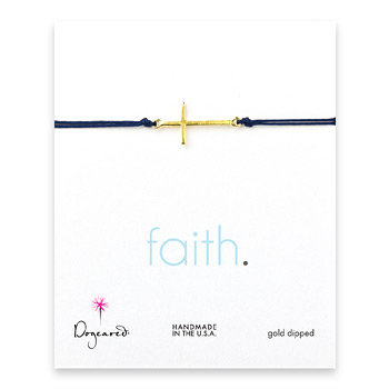 sideways+cross+bracelet+on+navy+cord%2C+gold+dipped