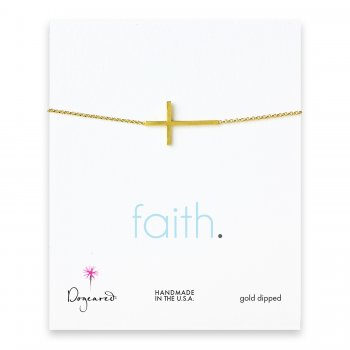 faith+large+cross+bracelet%2C+gold+dipped