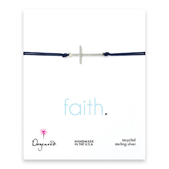 sideways+cross+bracelet+on+navy+cord%2C+sterling+silver