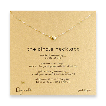 circle+necklace%2C+gold+dipped+-+18+inch