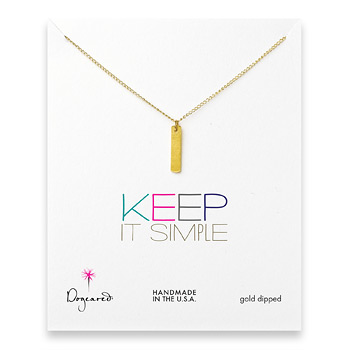 keep+it+simple+gold+dipped+long+bar+necklace