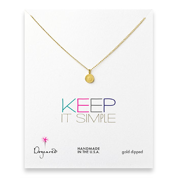keep+it+simple+gold+dipped+circle+necklace