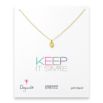 keep+it+simple+gold+dipped+lotus+petal+necklace