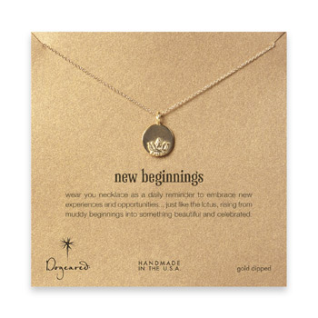 new+beginnings+lotus+disc+necklace%2C+gold+dipped+-+18+inch