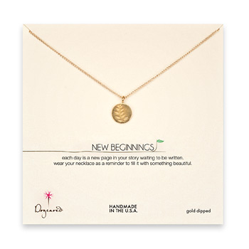 new+beginnings+wheat+gold+dipped+necklace