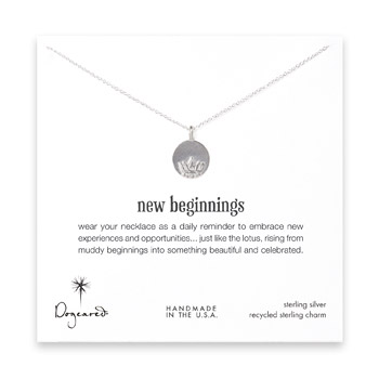 new+beginnings+lotus+disc+necklace%2C+sterling+silver+-+18+inch