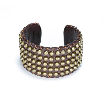 100 good wishes studded chocolate cuff