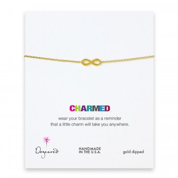 charmed+infinity+bracelet%2C+gold+dipped