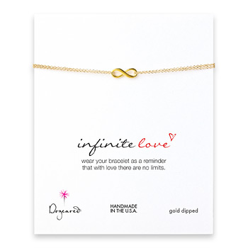 small+infinite+love+bracelet%2C+gold+dipped