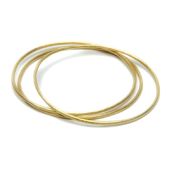 textured+bangle+bracelets+set+of+3%2C+gold+dipped