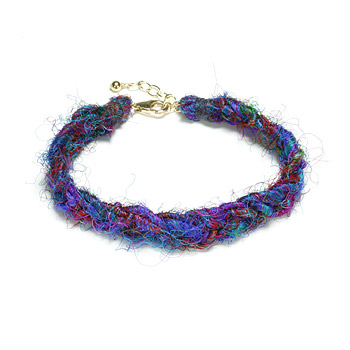 better safe than sari braided bracelet