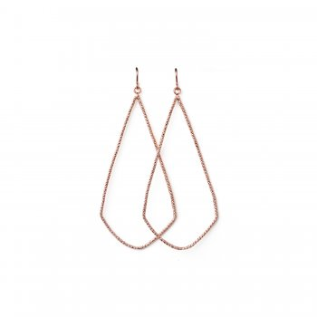 always+beautiful+sparkle+swing+earrings%2C+rose+gold+dipped