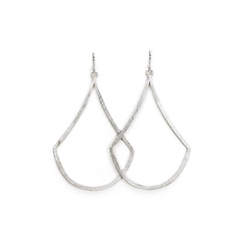 always beautiful swing silver earrings
