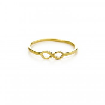 infinity+ring%2C+gold+dipped%2C+size+8