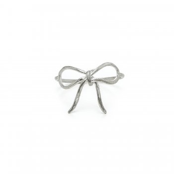 bow+ring%2C+sterling+silver%2C+size+6