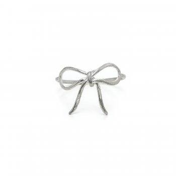 bow+ring%2C+sterling+silver%2C+size+7